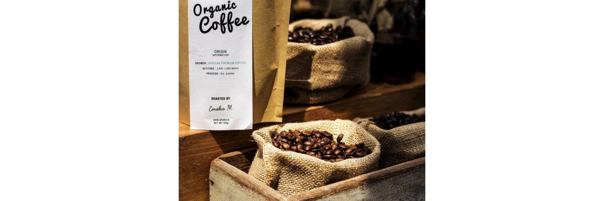 Etikettentechnik für Kaffeetüten und Kaffeebeutel - Kaffee-Etikettierung