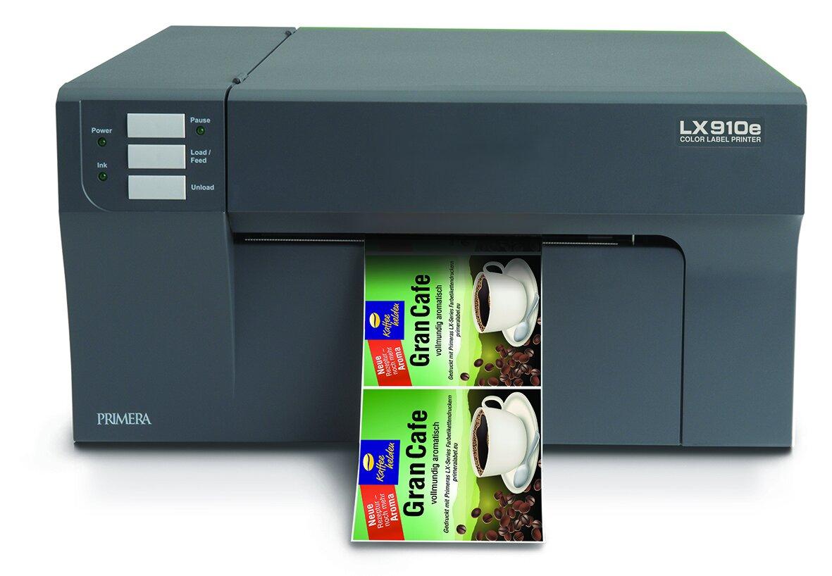 Drucker für Kaffeeetiketten