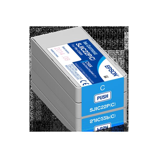 Epson ColorWorks C3500 Tintenpatrone (Cyan)