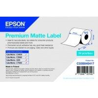 Premium Matte Label Continuous Roll, 51mm x 35m