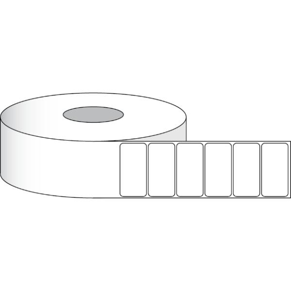 """Papier Hochglanz Etikett 4x2"""" (10,16 x 5,08 cm) 1000 Etiketten pro Rolle 2""""Kern"""