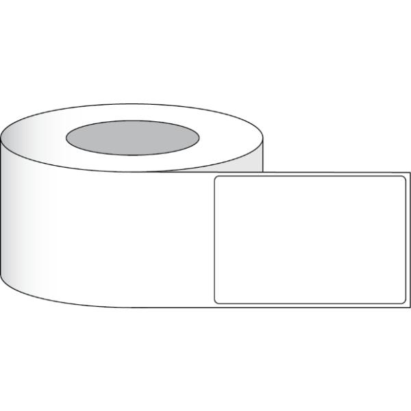 """Papier Hochglanz Etikett 4x6"""" (10,16 x 15,24 cm) 350 Etiketten pro Rolle 2""""Kern"""