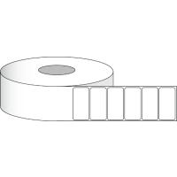 """Poly White Gloss Etiketten, 4"""" x 2"""" (10,2 cm x 5,1 cm), 900 Etiketten pro Rolle, 2"""" Kern"""