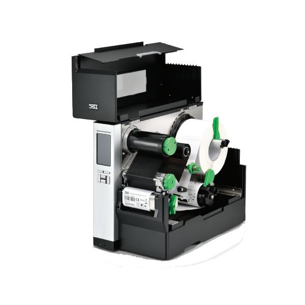 MH340P thermal transfer printer, 300 dpi, 12 ips - mit interem Aufwickler