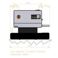 Audion Durchlaufschweißgerät D 545 AV-2