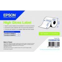 High Gloss Label - Die-cut Roll: 210mm x 297mm, 194 labels