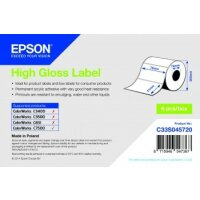 High Gloss Label - Die-cut Roll: 76mm x 51mm, 2310 labels