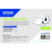 High Gloss Label - Continuous Roll: 102mm x 58m