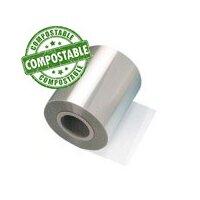 Zellophan Rolle 200 mm Breite Cellulose voll kompostierbar
