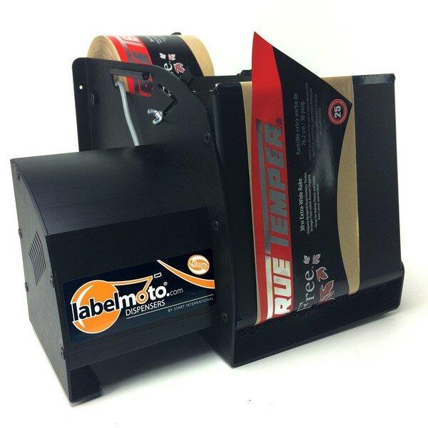 LDX8050 - Etikettenspender, löst lange, breite Etiketten und Stanzteile