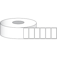 "Paper Matte 102 x 51 mm (4"" x 2"" ) 1250 Etiketten"