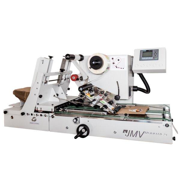 LAB510 Etikettiermaschine mit integriertem Separator-Einzug (Hopper) hochflexibel