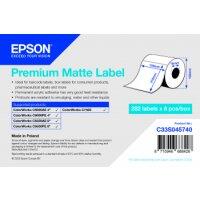 Premium Matte Label - Die-Cut Roll: 105mm x 210mm, 282...