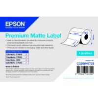 Premium Matte Label - Die-cut Roll: 102mm x 76mm, 1570...