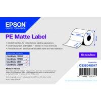 PE Matte Label - Die-cut Roll: 102mm x 51mm, 535 labels