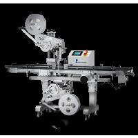 PL-221D Ober- & Untenseiten-Etikettiermaschine mit Verschlussetikettierung