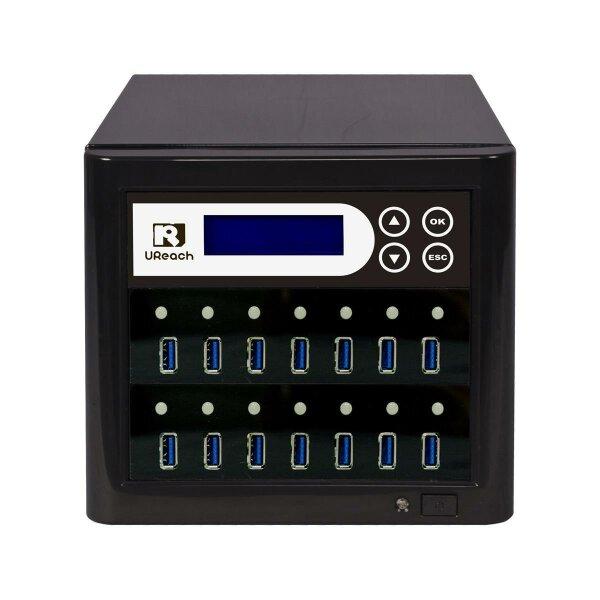 USB 3.1 USB-Kopierertower  / SuperSpeed+ Kopierertower 14 x USB3.1