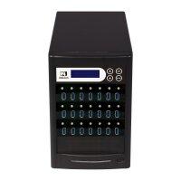 USB 3.1 USB-Kopierertower  / SuperSpeed+ Kopierertower 21...