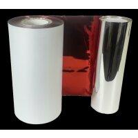 DTM TT Ribbon Metallic Red 110 mm x 200 m