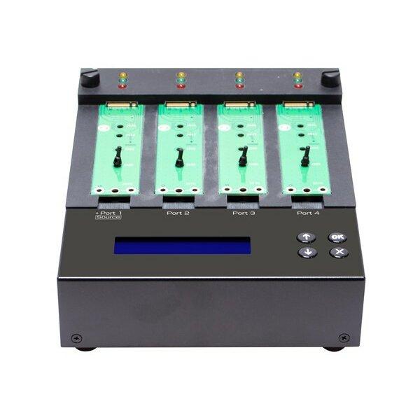 NVMe M.2 Kopier- und Löschgerät 1 zu 3