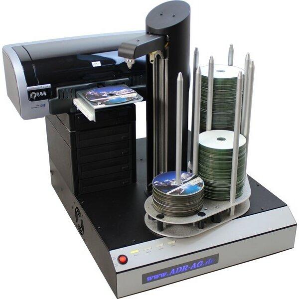 DVD Brennroboter - Cyclone mit Drucker HP Excellent V